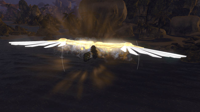 Firefall Legendary Celestial Wings in Flight