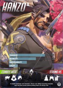 Overwatch heroes, Hanzo