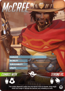 Overwatch heroes, McCree