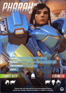 Overwatch heroes, Pharah