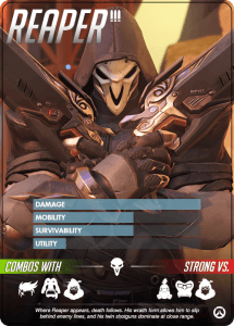 Overwatch heroes, Reaper