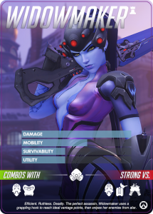 Overwatch Heroes, Widowmaker