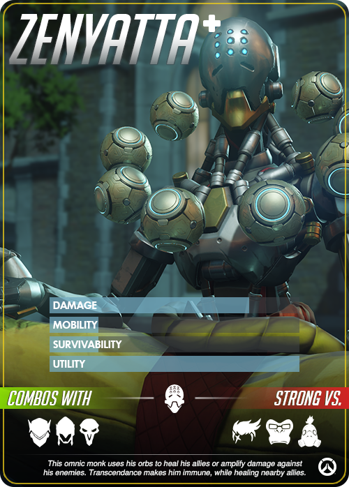Perfect Card Zenyatta