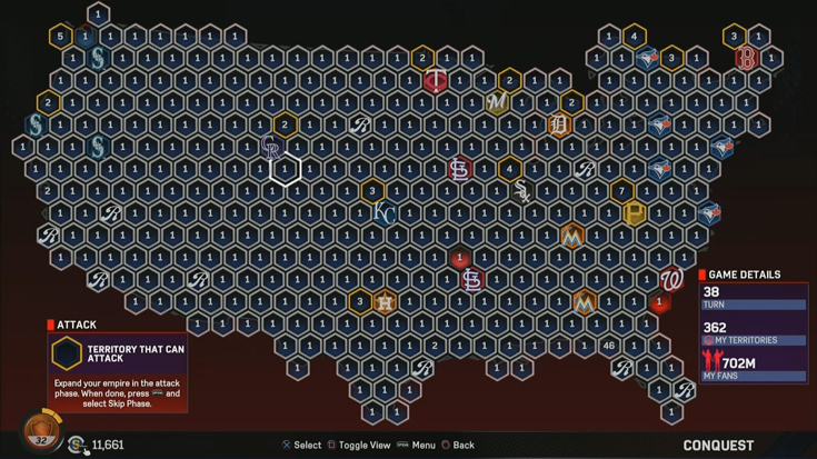 How to Complete MLB 17 Diamond Dynasty Conquest Map